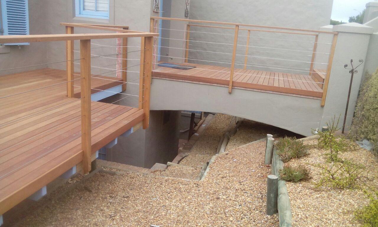 Balau Wooden Decking Cape Town Timber Decking Balau Decking Cape Town 1