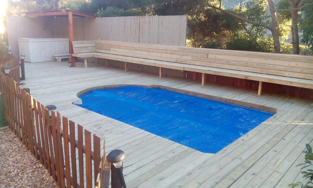 Timber decking wooden decking cape town deck installer 1