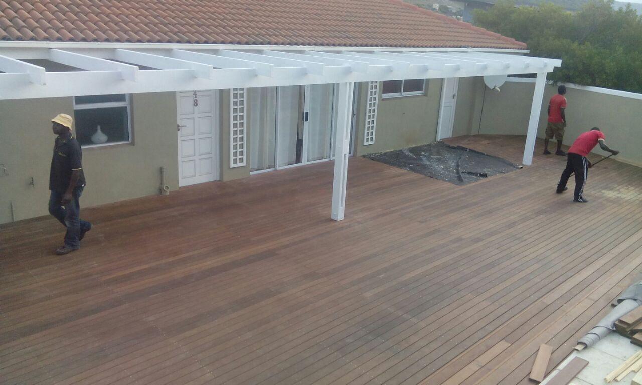 Wooden Decking Cape Town Timber Decking Balau Wood Decks Cape Town 2