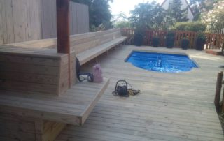Wooden Pool Decking Cape Town Timber Decking Balau Decking Cape Town 1
