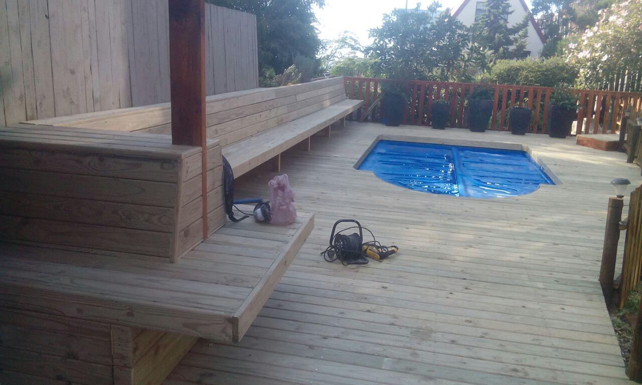 Wooden Pool Decking Cape Town Timber Decking Balau Decking Cape Town 1