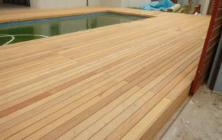 Pool Decking Cape Town - Garapa Wood
