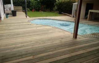 wooden pool decking cape town