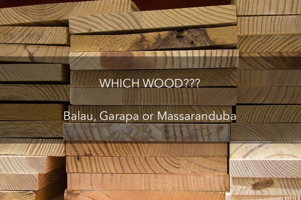 wooden decking balau decking Garapa orMassaranduba