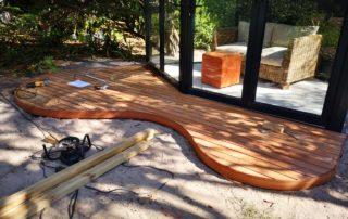 Wooden Decking - Garapa Wooden Decking