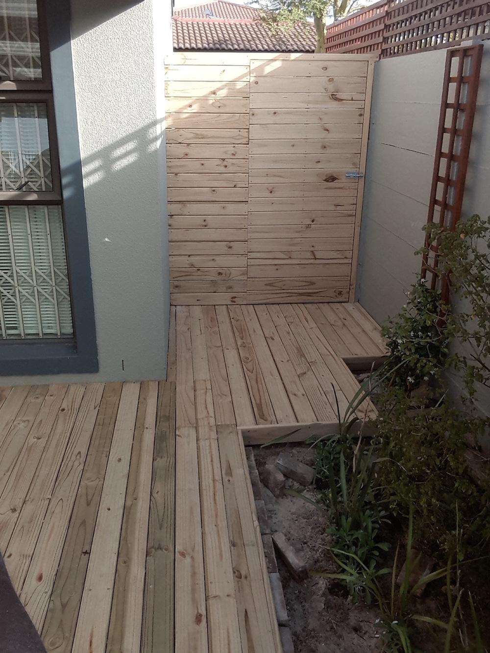 pine decking cape town wooden decking