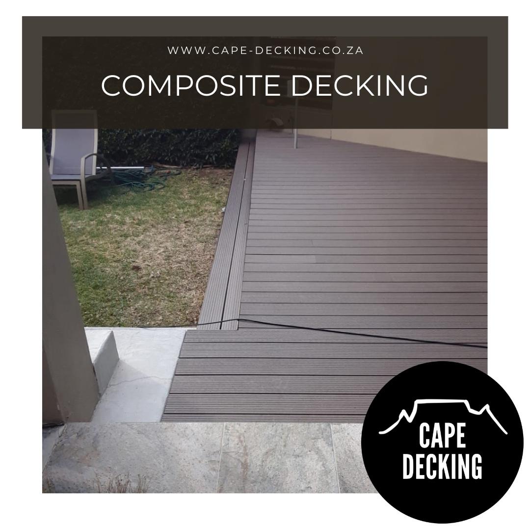 COMPOSITE DECKING cape town cape decking